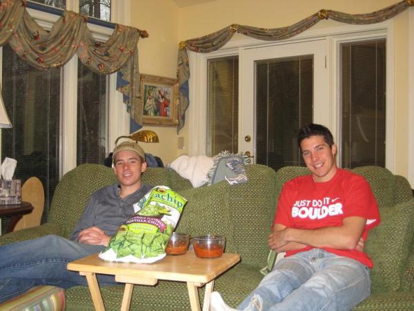 Tim and reid atNornee's