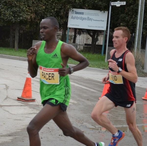 Catching back up to the leaders with help from Stephen Chelimo